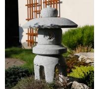 Японский фонарь из гранита Мару Юкими 2